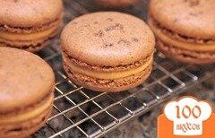 Фото рецепта: «Печенье Макарон с соленой карамелью»