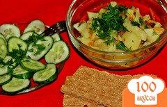 Фото рецепта: «Вкуснейшая тушеная картошка без мяса»