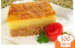 Фото рецепта: «Картофельная запеканка с фаршем»