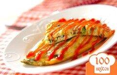 Фото рецепта: «Омлет со шпинатом»