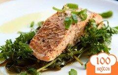 Фото рецепта: «Рыба на пару с травами»