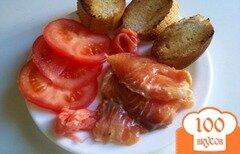 Фото рецепта: «Семга маринованная в апельсиновом соке»
