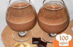 Фото рецепта: «Бананово-шоколадный коктейль»