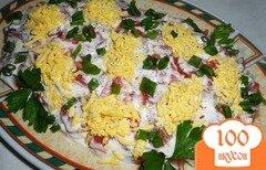 Фото рецепта: «Сельдь под помидорами»