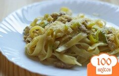 Фото рецепта: «Паста с кабачками»