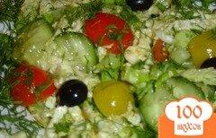 Фото рецепта: «Салат овощной ассорти»