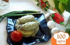 Фото рецепта: «Гречаники в грибном соусе»
