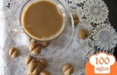 Фото рецепта: «Печенье Кофейные зерна с Бэйлис»