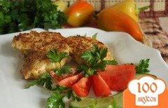 Фото рецепта: «Куриные котлеты с яблоками и кукурузной крупой»