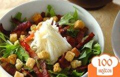 Фото рецепта: «Салат из батата с петрушкой»