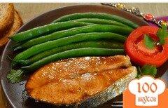 Фото рецепта: «Лосось, запеченный в имбирно-медовом соусе»