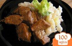 Фото рецепта: «Пряная свинина с соусом терияки»