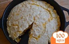 Фото рецепта: «Хлебец с чесноком и сыром»