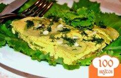 Фото рецепта: «Омлет с кабачками»