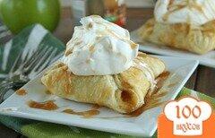 Фото рецепта: «Яблочные пирожки со сливками»