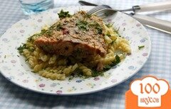 Фото рецепта: «Лосось в домашнем соусе терияки»