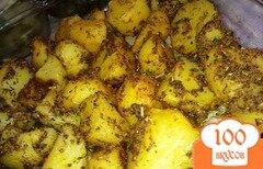 Фото рецепта: «Ароматный картофель»