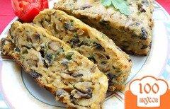 Фото рецепта: «Хлебец из шампиньонов»