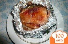 Фото рецепта: «Куриные бедрышки в горчично-медовом соусе»
