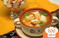 Фото рецепта: «Куриный суп с сыром»