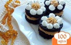 Фото рецепта: «Пирожное из микроволновки»