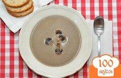 Фото рецепта: «Суп из шампиньонов со сливками»