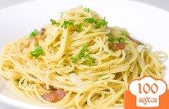 Фото рецепта: «Макароны с яйцом и сыром»
