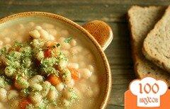 Фото рецепта: «Фасолевый суп постный»