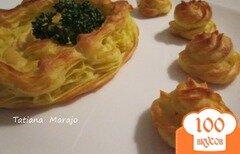 Фото рецепта: «Картофельные гнезда»