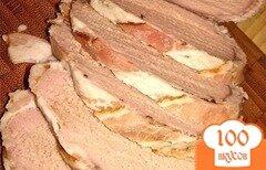 Фото рецепта: «Свиная вырезка в беконе»