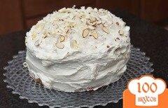 Фото рецепта: «Кокосовый пирог с кремом»