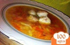 Фото рецепта: «Суп с белой колбасой»
