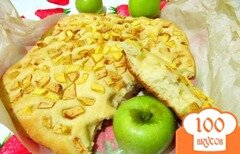 Фото рецепта: «Фокачча с яблоками»