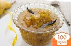 Фото рецепта: «Варенье из груши с ванилью»