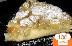 Фото рецепта: «Бургундская яблочная запеканка»