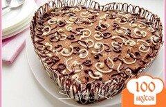 Фото рецепта: «Лимонно-шоколадный десерт без выпечки»