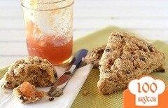 Фото рецепта: «Печенье по-деревенски со смородиной и вишней»