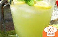Фото рецепта: «Базиликовый лимонад»
