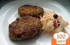 Фото рецепта: «Котлетки из чечевицы с грибами»