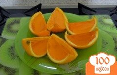Фото рецепта: «Желейный апельсин»