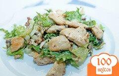 Фото рецепта: «Салат с курицей, сельдереем и орехами»