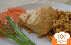 Фото рецепта: «Курица по-тайски с рисом»
