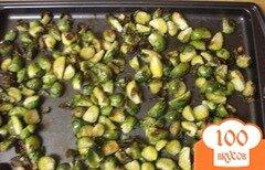 Фото рецепта: «Чесночная паста с брюссельской капустой»