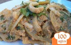 Фото рецепта: «Салат из зеленых помидоров»