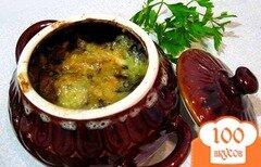 Фото рецепта: «Капуста с грибами в горшочке»