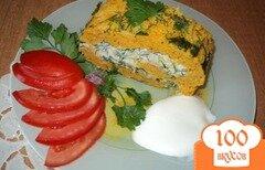 Фото рецепта: «Рулет морковный.»