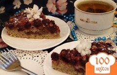 Фото рецепта: «Вишнёвый пирог с шоколадом»