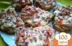Фото рецепта: «Горячие бутерброды на завтрак»
