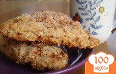 Фото рецепта: «Лепешки с корицей и ирисками»