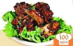 Фото рецепта: «Запеченные свиные ребрышки»